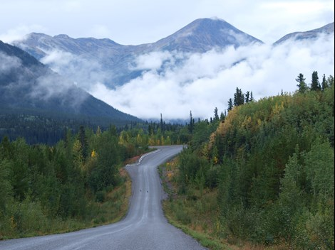 Canadian Mountain Road