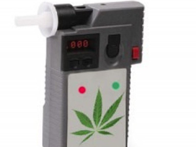 Driving Under the Influence: A Marijuana Breathalyzer?