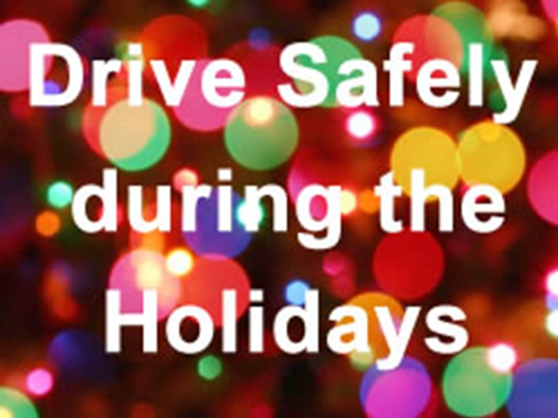Drive smart this holiday season